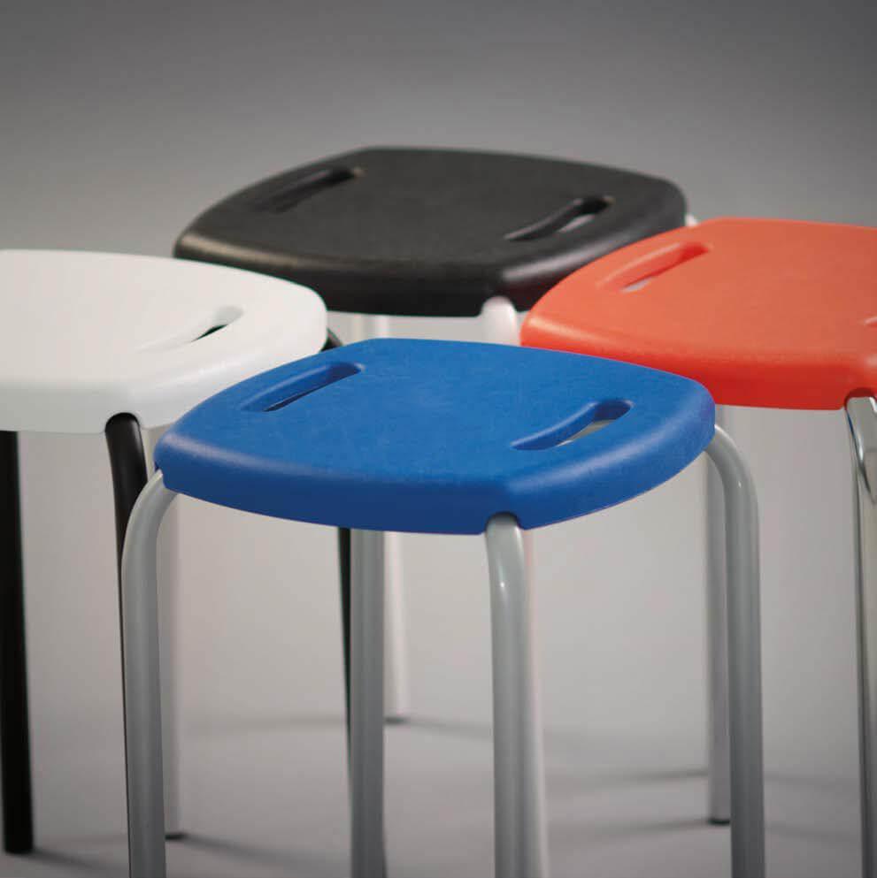 Пластиковый табурет для кухни