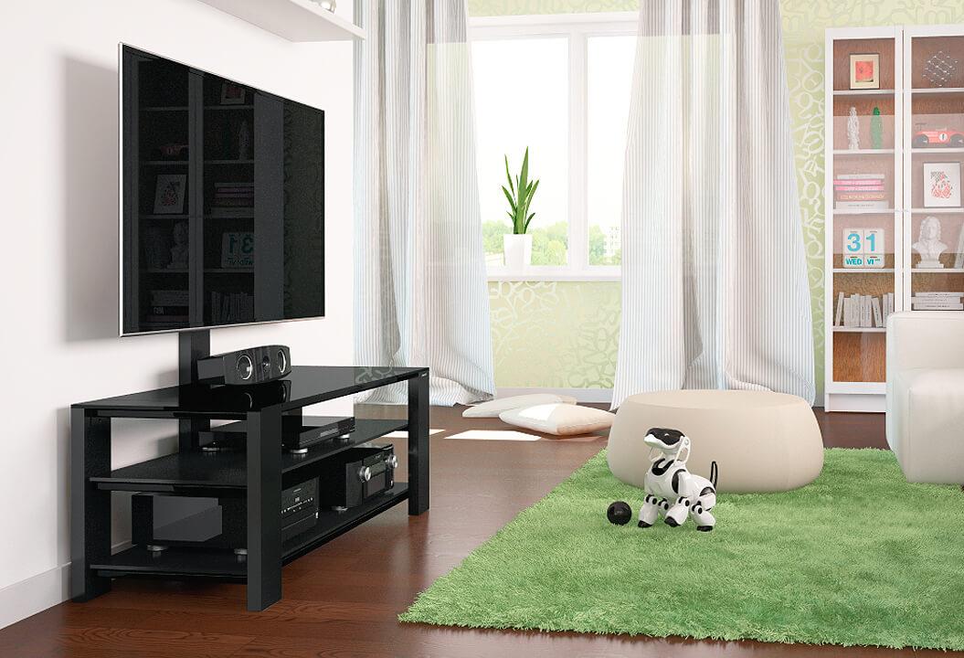 Тумбочка под телевизор с кронштейном