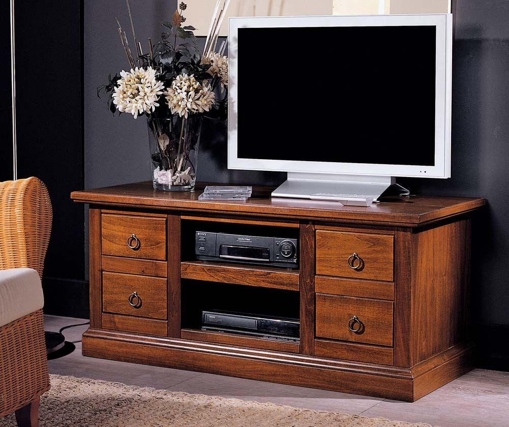 Тумбочка под телевизор с ящиками