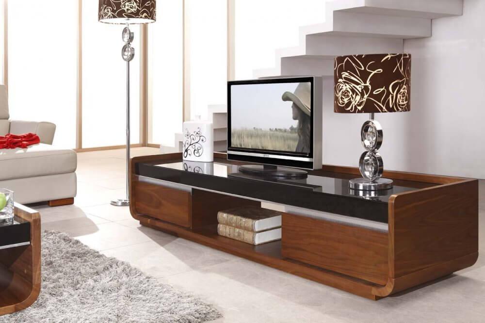 Тумбочка под телевизор в современном стиле